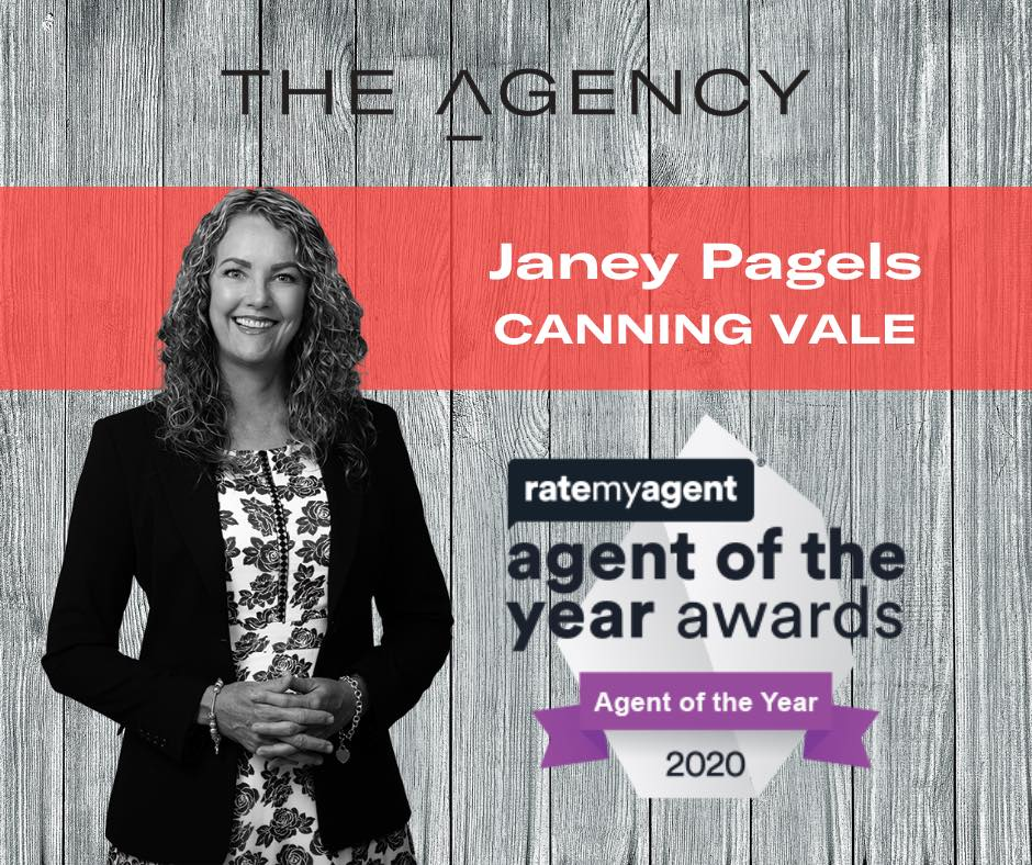 Canning Vale Real Estate Agent of the year 2020